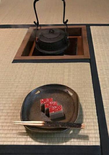 亀泉庵の茶事