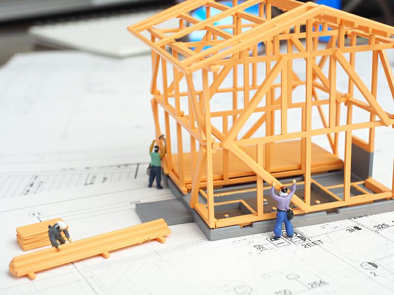 木造住宅建築イメージ