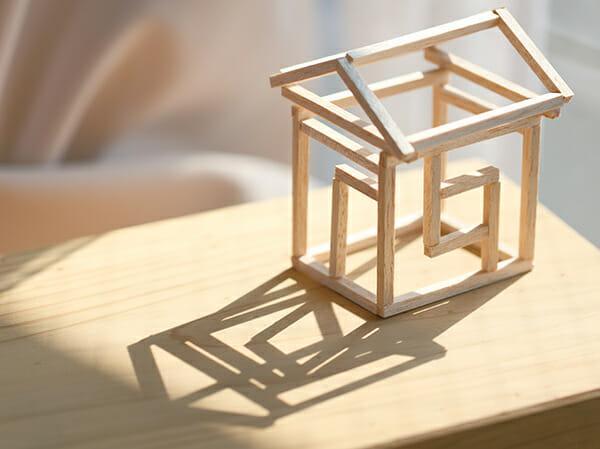 家を建てるイメージ