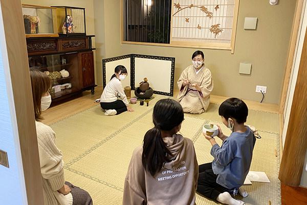 2020_11年子供茶道教室